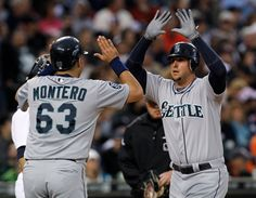 Ackley, Ichiro and Montero record 3 hits each in a 9-1 taming of the Tigers by the #Mariners. 4/25/12