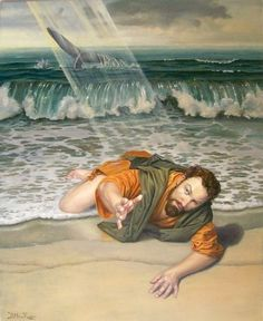 Jonah prayed to Jehovah his God from the belly of the fish. - Jonah 2:1.