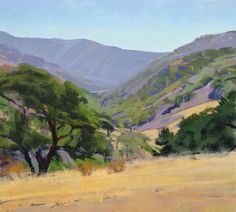 This is SO California.  Noon on the Ranch - Marcia Burtt Studio.  We've used her prints in many projects.
