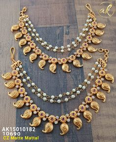 Temple Jewellery Available at #ankhjewels for booking msg on +919619291911.....
