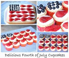 Fourth of July Cupcakes (The BEST Cupcakes EVER!)