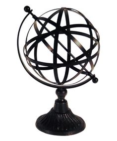 Look at this Wire Globe Décor on #zulily today!