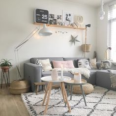 scandinavian living room for home decoration sejour 7 Amazing Scandinavian Living Room Designs Collection Living Room Colors, New Living Room, Interior Design Living Room, Living Room Designs, Living Room Decor, Pastel Living Room, Small Living, Modern Living, Design Salon