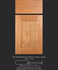 Shaker Cabinet Doors, Shaker Cabinets, Cherry Cabinets, The Selection, Stiles, Flat, Detail, Kitchen, Cabinet Doors