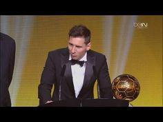 "Lionel Messi Ballon d""Or 2015 Winner (Full video) HD"