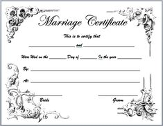 Blank marriage certificate template for microsoft word image result for traditional marriage certificate texas printable yadclub Gallery