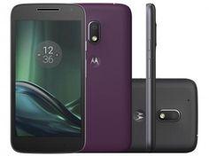 Smartphone Motorola Moto G 4ª Geração Play DTV - 16GB Preto Dual Chip 4G Câm. 8MP + Selfie 5MP