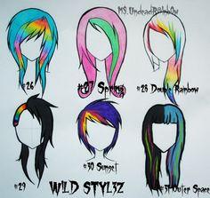 Wild Styles Part 4 by Rainb0w-Rand0m.deviantart.com on @deviantART