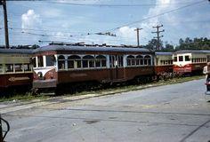 Red Arrow  Lines CENTER  ENTRANCE CAR 1960S