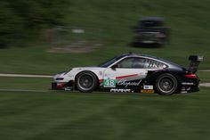 Bryce Miller (USA) / Sascha Maasseen (Germany), Paul Miller Racing Porsche 911 GT3 RSR, Road America, ALMS, Elkhart Lake WI. 17 AUG 2012 (Photo by Ken Novak)