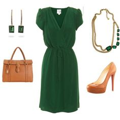 Stylish emerald dresses for special occasions - Find more ideas at women-outfits.com