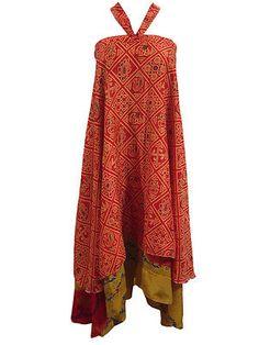 Women s Silk Wraparound Skirt by indiatrendzs Hippie Style, Bohemian Style, Boho Chic, Beach Wrap Skirt, Reversible Skirt, Boho Fashion, Fashion Outfits, Kimono Top, Summer Dresses