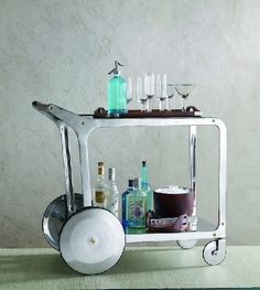 bar cart inspiration