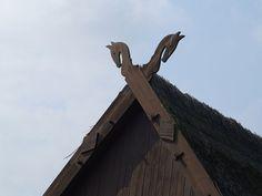 Giebelschmuck Mecklenburg-Vorpommern Pferdeköpfe - Hengist and Horsa - Wikipedia, the free encyclopedia