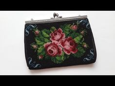 Handbag beaded. Master Class. - YouTube