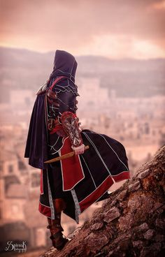 Thanatos Industries is Ezio Auditore de Firenze (Assassin's Creed) by SpirosK photography