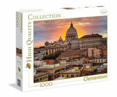 Puzzle CLEMENTONI: Puzzle de 1000 piezas Puzzle Roma Vaticano ( Ref: 0000039341 ) en Puzzlemania.net