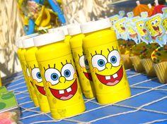 Spongebob BIrthday Party Treats/Drinks/Favors...great ideas!