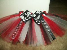 Custom made pirate princess tutu any size by CatyRoseBows on Etsy,