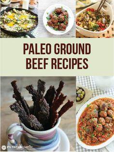 20 Paleo Ground Beef Recipes