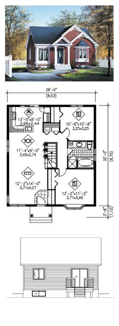 5 Fortunate Cool Tricks: Master Bedroom Remodel The Doors master bedroom remodel floating shelves.Master Bedroom Remodel The Doors small bedroom remodel room dividers. Best House Plans, Small House Plans, House Floor Plans, D House, Sims House, Victorian House Plans, Victorian Homes, Inexpensive Bathroom Remodel, Remodel Bathroom