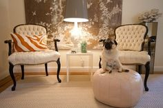 Rooms with a Pouf from Our House Tours