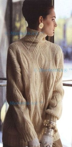 36 Ideas knitting patterns pullover beautiful for 2019 Winter Sweaters, Cable Knit Sweaters, Knit Fashion, Sweater Fashion, Knitting Designs, Knitting Patterns, Casual Winter Outfits, Crochet Clothes, Cardigans For Women