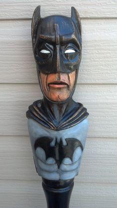 Batman Walking Stick by TreeBoneCreations on Etsy, $850.00 #batman #walkingstick