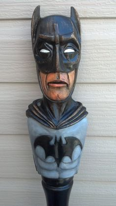 Batman Walking Stick by TreeBoneCreations on Etsy, $850.00 #batman #walkingstick