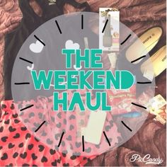 Revolt Nation: [The Weekend Haul] : Everyone loves shopping over the weekend