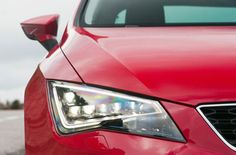 SEAT Leon with LED Headlights - For a limited time only SEAT is offering the Technology Pack for new Leon available for £500, a saving of £575 over the list price. The offer finishes on the 31st March 2013 and is available with all new Leon SE and FR models.