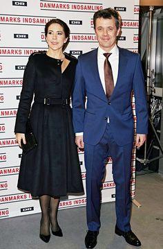 kronprinsenfrederik:  Crown Princess Mary and Crown Prince Frederik attended Indsamling 2015, Denmark's biggest fundraising event, January 31, 2015