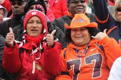 Badger and UTEP fan at today's game.