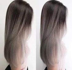 Dyed Hair Balayage Hair Color Ideas for Brunettes- Brown Hair Balayage, Brown Blonde Hair, Hair Color Balayage, Hair Highlights, Ombre Hair, Blonde Grise, Maquillage On Fleek, Long Hair Wigs, Gorgeous Hair Color