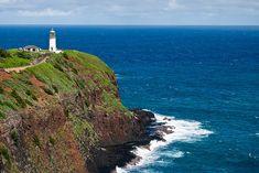 Kilauea Lighthouse on the Hawaiian Island of Kauai - can hardly wait for our trip to Kauai this summer!