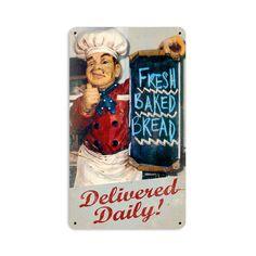 Fresh Bread - Vintage Signs