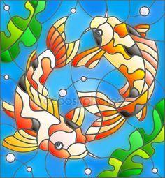 Картинки по запросу Sakura vector stained glass