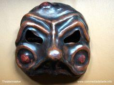 Commedia dell'arte mask Zanni