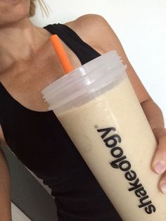 Peanut Butter and Banana  * 1 cup water * 1 scoop vanilla Shakeology * 1-2 tsp of PB  * 1 banana * 7-8 ice cubes  Blend and enjoy!