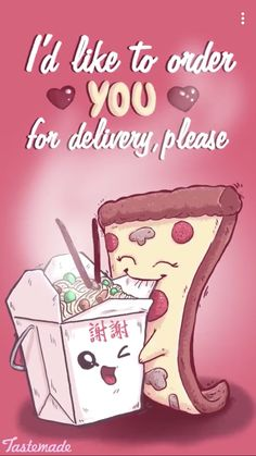 I'd Like to Order You for Delivery - Please