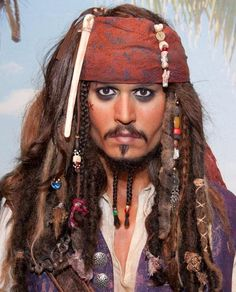 Madame Tussauds Unveils Wax Figure of Johnny Depp as Captain Jack Sparrow from Pirates of the Caribbean Madame Tussauds, Johnny Depp, Pirate Makeup, Wax Museum, Portraits, Pirates Of The Caribbean, Movie Stars, Hollywood, Celebs
