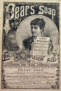 Vintage soap Ads | 1885 Pears Soap Ad ~ Adelina Patti, Vintage Health & Beauty Ads