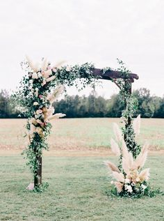 Virginia Wedding where Couple's Rescue Dog Walks Bride Down the Aisle! Wedding Arbors, Wedding Ceremony Decorations, Wedding Ideas, Floral Wedding, Wedding Flowers, Wedding Ceremony Floral Arch, Wedding Arch Greenery, Fall Wedding Arches, Arco Floral