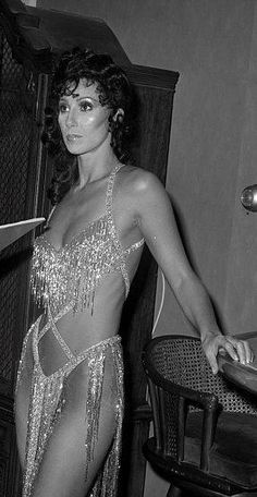 Cher.  Part of the reason she became a success was because EVERYONE (male AND female!) turned to watch The Sonny & Cher show each week to see what she would-or wouldn't LOL-be wearing.  AND SHE NEVER DISAPPOINTED!  (Thanks to designer Bob Mackie.)