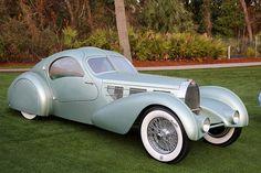 Bugatti Type 57, Bugatti Cars, Bugatti Veyron, Lamborghini Lamborghini, Ferrari 458, Retro Cars, Vintage Cars, Art Deco Car, Automobile