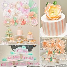 Peach Baking Shop Birthday Party | POPSUGAR Moms