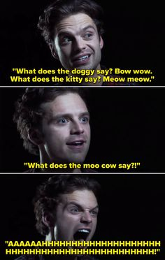 Here Are Just 21 Times Sebastian Stan Was Hilarious And Wholesome Behind The Scenes