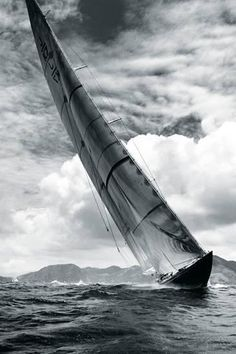Once in a Lifetime Experience – Yacht Charter Sailing in Greece J Class Yacht, Sail Away, Windsurfing, Kayaks, Boat Plans, Tall Ships, Water Photography, Water Crafts, Black And White Photography