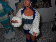 Handmade Outfit for Barbie Doll   SEE SPECIAL OFFER   (nannycheryl original)1006 £3.50