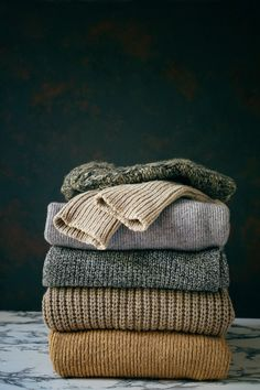 Stack of cozy knitted sweaters autumn-winter concept knitted wool sweaters pile . Stack of cozy knitted sweaters autumn-winter concept knitted wool sweaters pile . Stack of cozy knitted sweaters autum. Autumn Aesthetic, Knitwear Fashion, Aesthetic Clothes, Aesthetic Outfit, Sweater Outfits, Wool Sweaters, Thrifting, Winter Clothes, Fall Winter